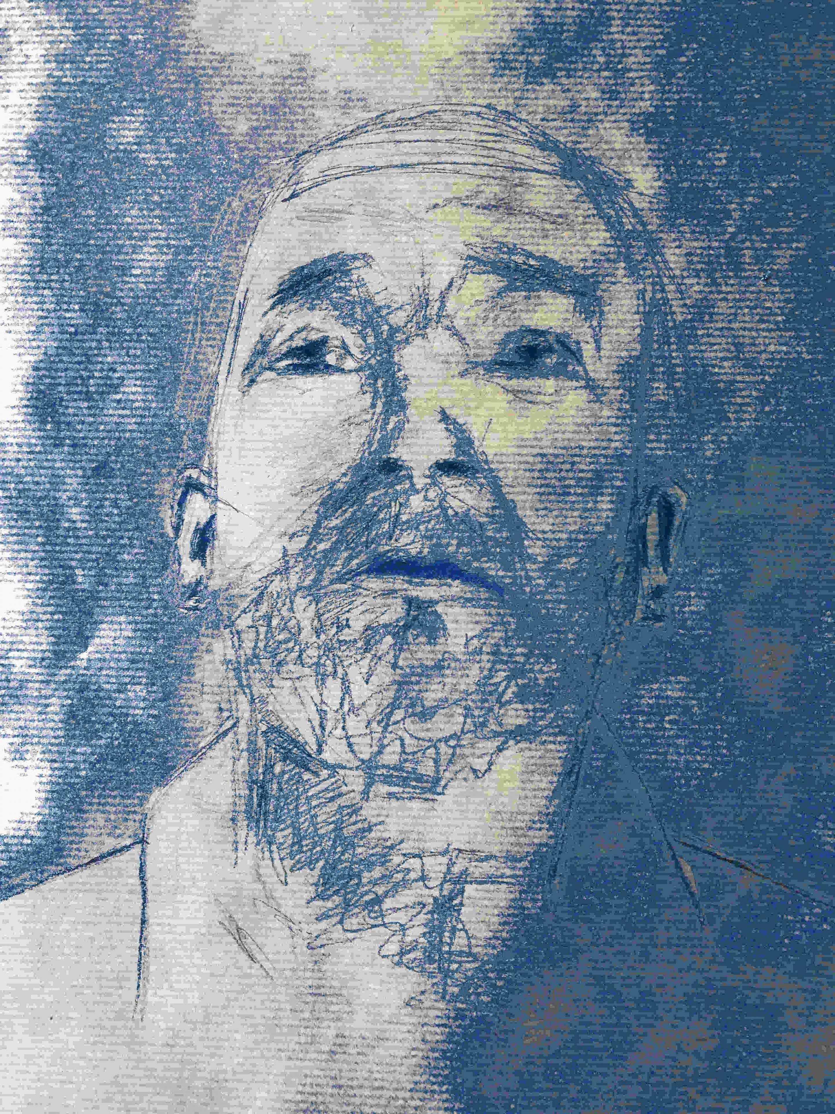artiste peintre moderne contemporain portraits numeriques