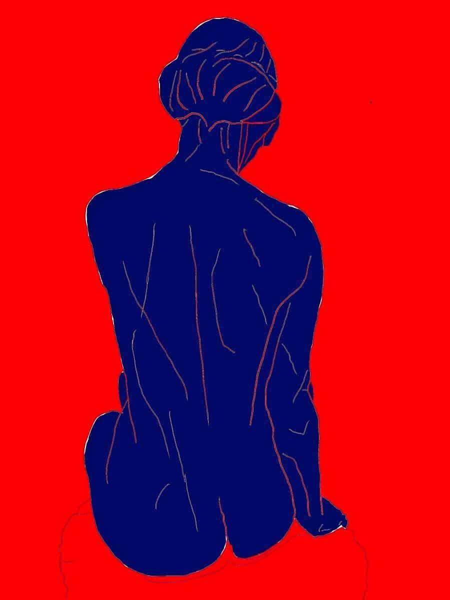 artiste peintre moderne contemporain nus numerique