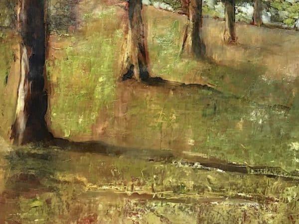 peinture à l huile paysage sur toile