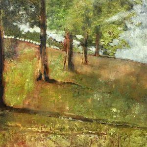 peinture à l huile paysage art numerique
