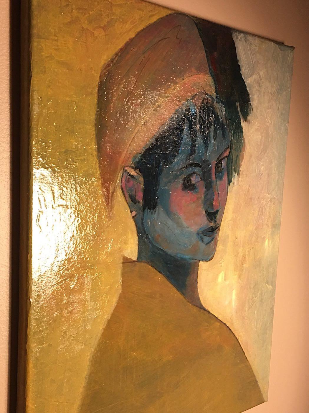 Art numerique Portrait femme